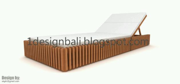 Modern Design Kursi Santai /Pantai / Lounger Volume.2