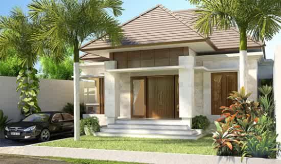 Desain Villa Modern Klasik di Bali